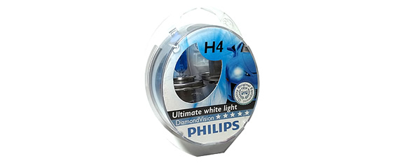 Auto sijalice PHILIPS H4 DIAMOND VISION