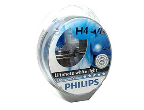 Auto sijalice PHILIPS H4 12V 60/55W P43t DIAMOND VISION